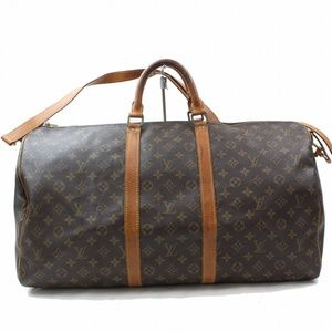 Auth Louis Vuitton Keepall 55 Travel Bag 103LTR324